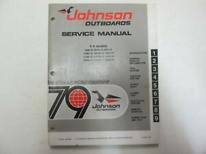 1979-Johnson-Outboards-V-4-Service-Repair-Shop-Manual-JM-7909-FACTORY-OEM