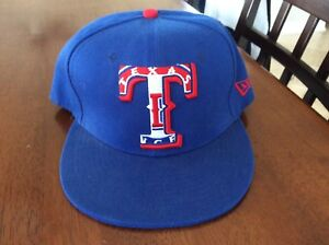 New Era Texas Rangers GAME 59Fifty Fitted Hat Royal Blue MLB Cap