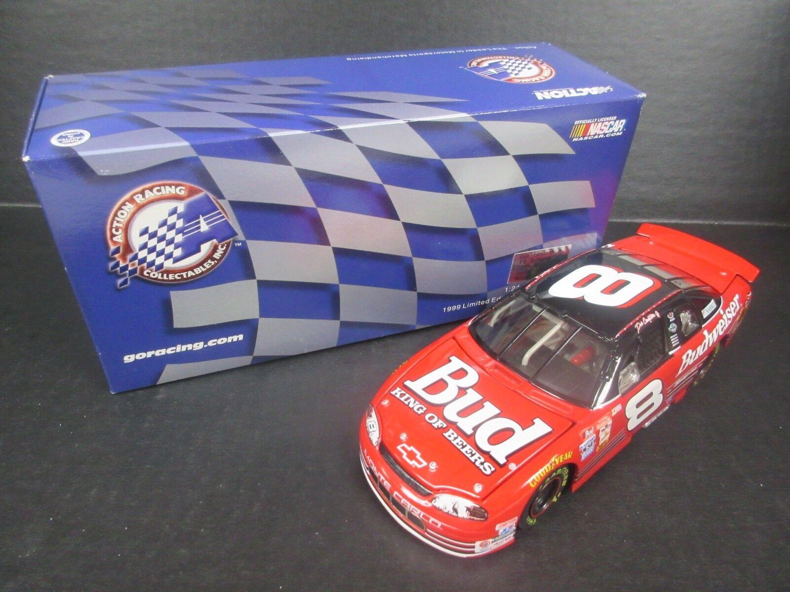 caliente 1998 acción    8 Dale Earnhardt Jr. Budweiser 1999 Monte Cochelo -- escala 1 24th  barato