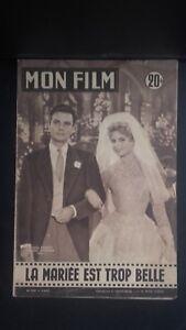 Rivista Brigitte Bardot il Mio Film N° 554 1957 ABE