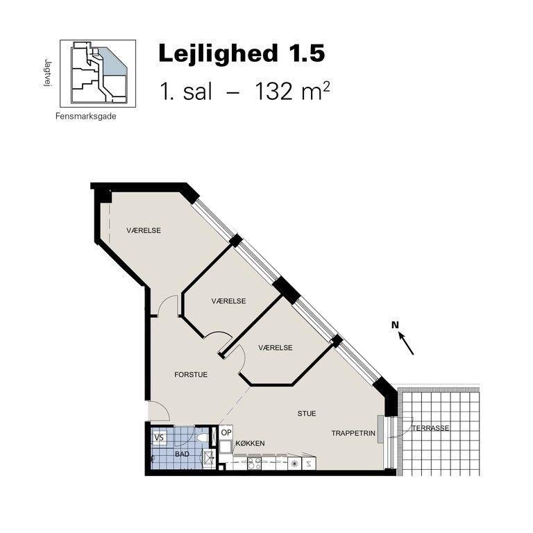 2200 4 lejlighed, 126, Jagtvej – dba.dk – Køb og Salg af Nyt og Brugt