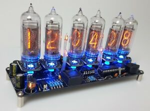 Nixie-Clock-Kit-For-IN-14-Nixie-Tubes-Tubes-AREN-039-T-Included
