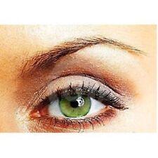 lentilles de couleur vert  1 an - contact lenses  green