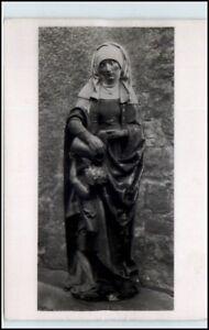 ROTTWEIL-Lorenzkapelle-Skulptur-Heilige-Elisabeth-1955-Postkarte