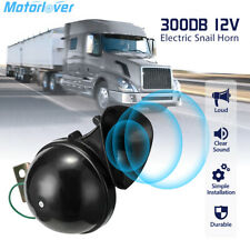 300db Super Loud Electric Snail Air Train Horn For 12v Truck Car Boat Motorcycle