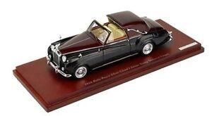 True-Scale-Rolls-Royce-1-43-Phantom-V-1962-Sedanca-De-Ville-Diecast-Model-Car