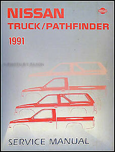 Image Is Loading 1991 Nissan Truck And Pathfinder Manual 91