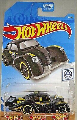 Hot Wheels Volkswagen Kafer Racer Black Moon Eyes 2019 #46 Volkswagen 1//10