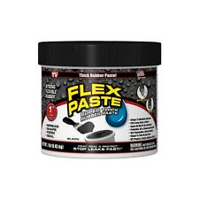 Flex Seal Pfsblkr16 Flex Paste 1 Lb Jar Black
