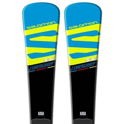 Salomon 2018 X-Race GS Skis w Race Plate P69 NEW    175cm
