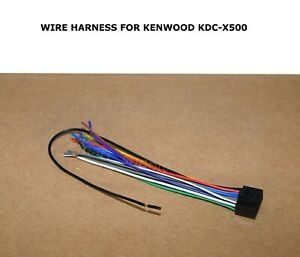 KENWOOD DDX9903S DDX-9903S GENUINE WIRE HARNESS * FAST FREE SHIPPING* USA