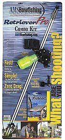 AMS 610RC216 Pesca Gator Combo Kit Mano derecha Retriever Pro 15172