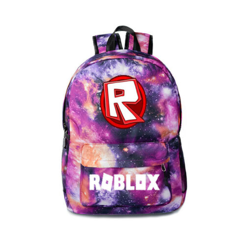 Unisex Roblox Backpack Kids School Bag Students Kids Bookbag Handbags Travelbag
