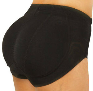 SILICONE BUTT PADDED Brief Panty Underwear Enhancer Buttocks ...