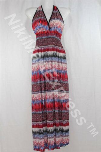 New Fashion Women V Neck Smocked Waist Maxi Long Summer//Beach Dress//Sun Dress
