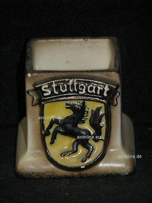 +# A000736_25 Goebel Archiv Muster Streichholzhalter Wappen Stuttgart 7 Krone Verkaufsrabatt 50-70%
