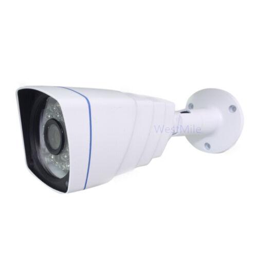 3.6MM AHD CCTV Camera 2MP HD Analog Outdoor Security Night Vision Bullet Metal