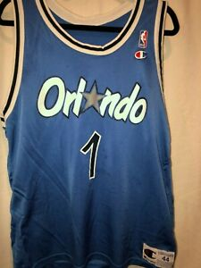 best service 97b3d 481a6 Details about Vintage 1993 Anfernee Penny Hardaway Orlando Magic Jersey-  SIZE 44 (M/L)