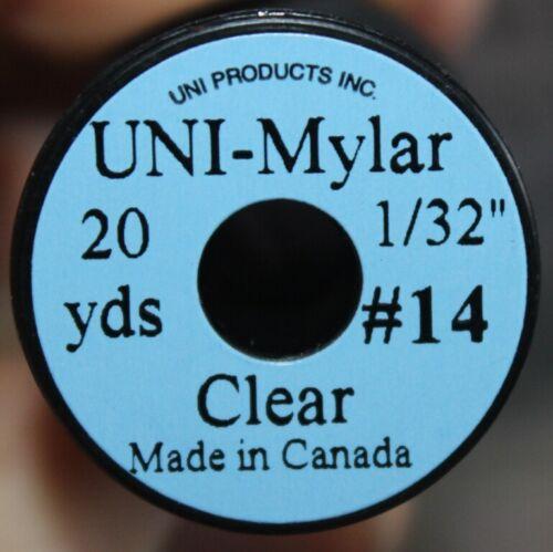 Fly Tying Uni Clear Mylar Nymph Overwrap