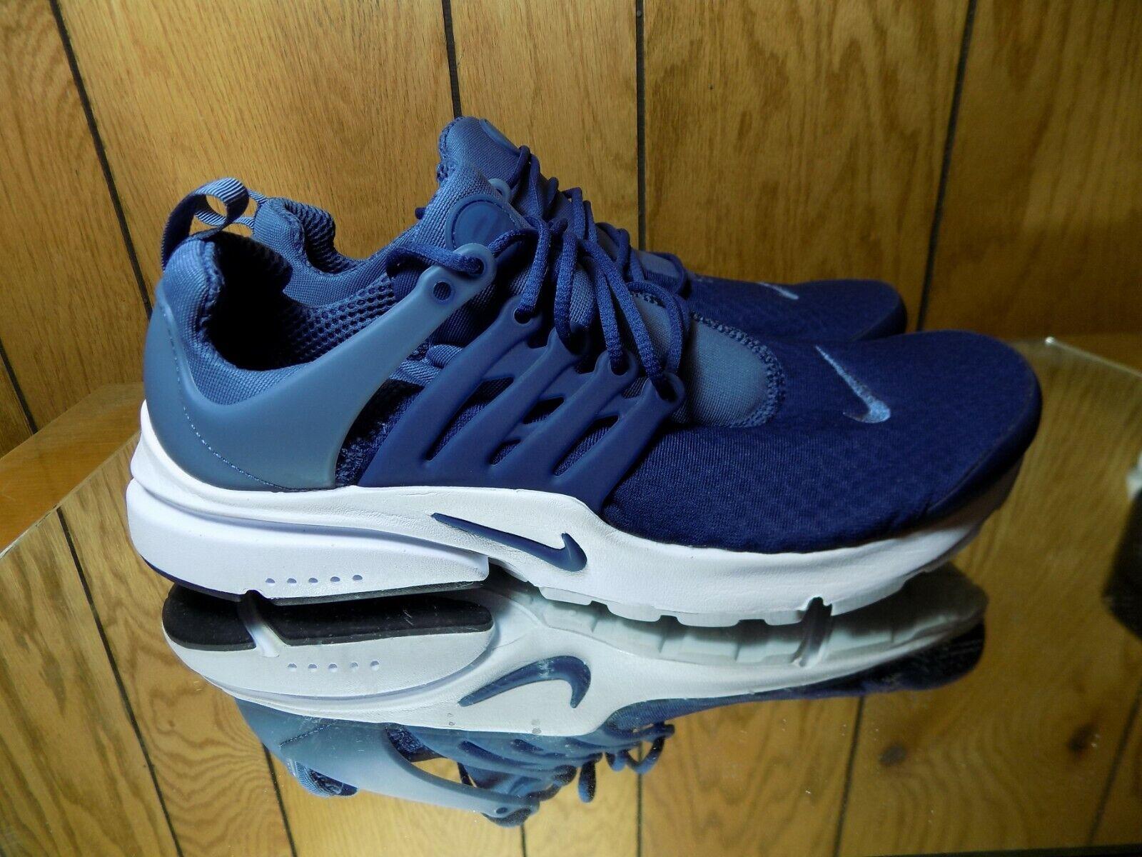Nike Air Presto Essential Navy blueee Men Running shoes Sneakers 848187-406 s 10