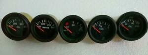 24v-Electrical-Gauges-52mm-Oil-Pressure-Oil-Temp-Fuel-Temp-Volt-gauge