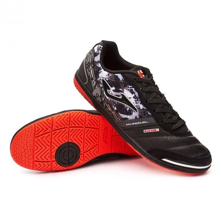 JOMA MUNDIAL 801 negro INDOOR INDOOR INDOOR Zapatos CALCETTO FUTSAL NERO 41  42,5  43  43,5 0494dc