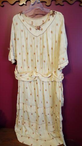 Antique Edwardian Tea Gown, Lawn Dress.