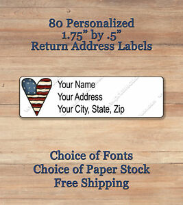 image is loading 80 personalized self adhesive printed return address labels