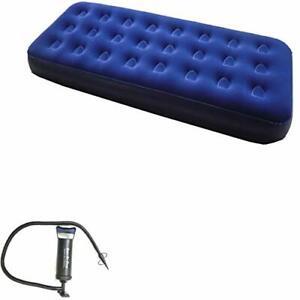 Zaltana Single Size Air Mattress Double Action Hand Pump