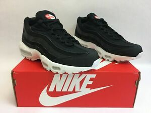 8210c06669bb Nike Air Max 95 Premium SE Black Black White 924478 001 Size 8.5