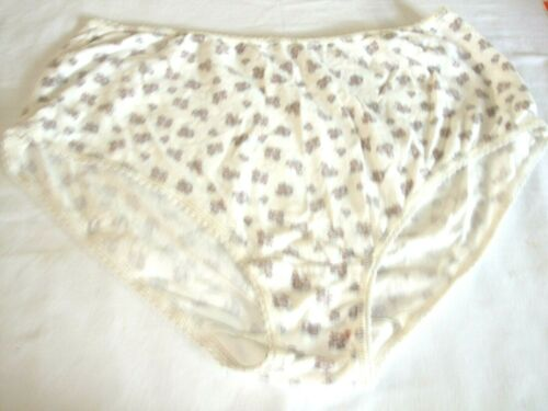 Marks /& Spencer Full Briefs Crème Floral Taille 16 Poly//Coton élasthanne