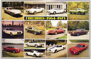 Image Is Loading 2016 Special Pontiac Firebird History 1964 1973 Most