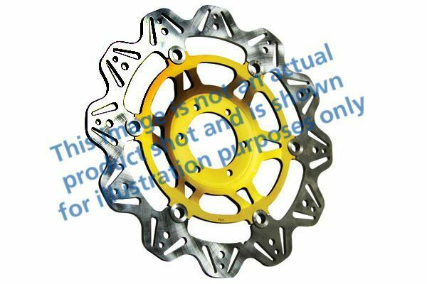 FIT DUCATI Monster 400 (Single disc 00>02 EBC VR Brake disc Gold Hub Front Left