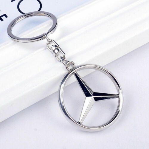 Hollow Car Keychain Decoration Metal Handiness Keychain Showy Factory Outlet