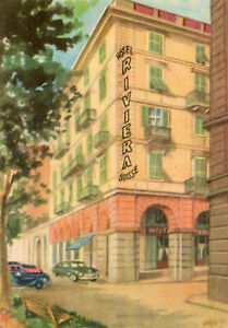 Carte Italie Savone.Details Sur Carte Italie Savona Savone Hotel Riviera Suisse Illustre Par Wado