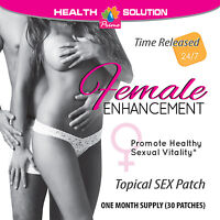 Female Enhancers Enhancement Patches Promotes Sexual Vitality (6 Packs)