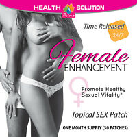 Sexual Female Enhancer Enhancement Patches Promotes Sexual Vitality (2 Packs)