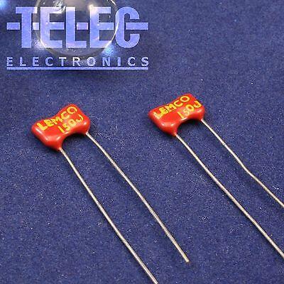 50pF Silver Mica Condensateurs LEMCO x 10 pcs