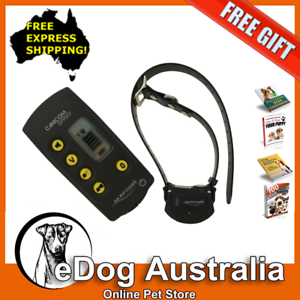 Dog Shock Collar With Remote And Automatic Shock On Bark