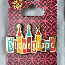 Disneyland Mary Blair Castle Retro Logo Pin New On Card 2012 Disney Trading
