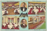 L'Aiglon Restaurant in Chicago IL Postcard