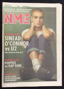 NME-29-October-1988-Sinead-O-039-Connor-U2-Alexei-Sayle-Les-Patterson-Leigh-Bowery