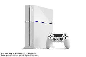 SONY-PS4-Playstation-4-500GB-White-Console-VGWC-Warranty
