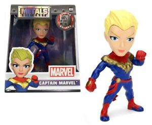 JADA-TOYS-CAPITAINE-MARVEL-4-Pouces-Diecast-Metal-Figure-Modele-BN-98092