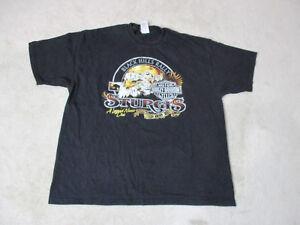 Harley-Davidson-Shirt-Adult-Extra-Large-Black-Sturgis-Black-Hills-Rally-Biker