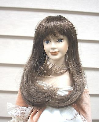 "Doll Wig - WTA12 Soft Waves - size 5""(head) LAST COLOR!!"