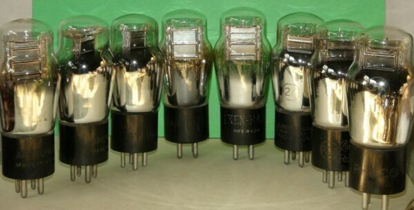 #26 Vacuum Tube (various Brands) (15) Available All Very Strong ; Pro Tested