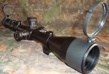 Nikko Target Master 30mm 5-20x50 SF Illuminated LRX Rifle Scope +Caps+ Sunshade