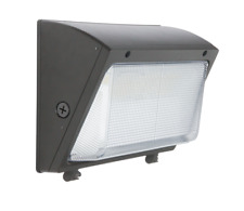 6080100 Watt Led Wall Pack Commercial Industrial Light Outdoor Glass Lens