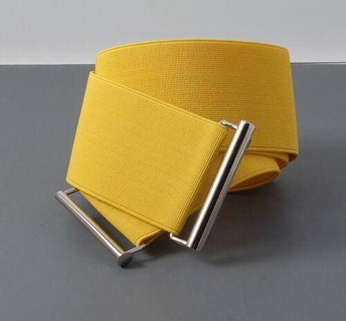 "#EL1 Belt w//Black,Beige,Yellow 5CM USA stock. Women Elastic Cinch  2/"" inch"